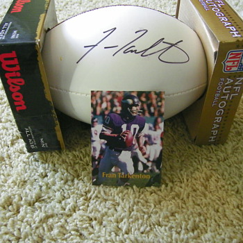 Fran Tarkenton - Football