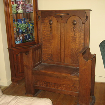 Antiques Hall tree - Furniture