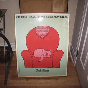"Vittorio Fiorucci""Orchestre Symphonique de Montreal"" - Posters and Prints"