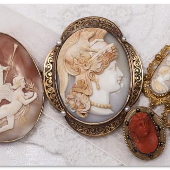 Fine Victorian Cameos - Fine Jewelry