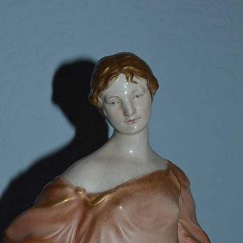 Crown Devon Ivrine figurine - Grecian lady