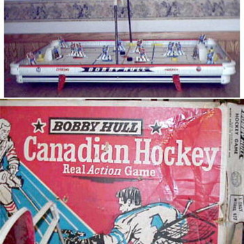 1961 Munro Table Hockey game - Games