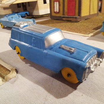 Auburn Rubber Packard Wagon. - Model Cars