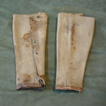US Army Model 1910 Canvas Leggings (Gaiters) - Military and Wartime