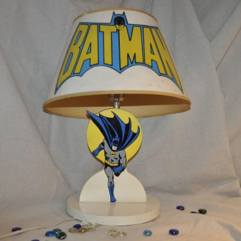 Batman Lamp 1977