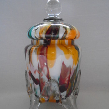 Welz Lidded Jar
