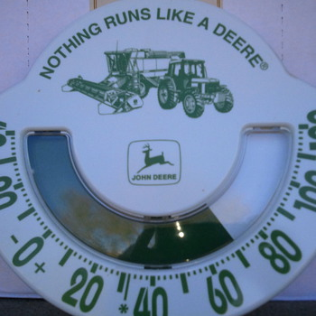 John Deer Thermometer - Advertising