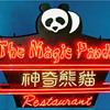 Vintage 1970's THE MAGIC PANDA RESTAURANT Neon Sign Asian Art *