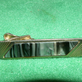 "Vintage ""Mother Of Pearl"" Tie-Clip"
