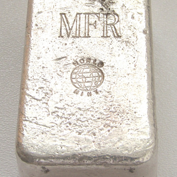 MFR WORLD MINT .999 SILVER BAR  50+ OZ.