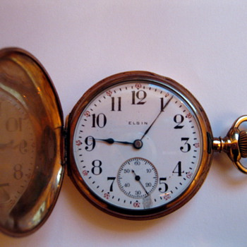 my elgin 14k pocket watch