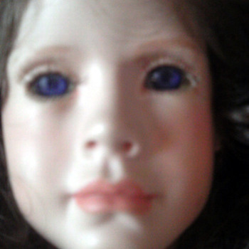 Beautiful Blue Eyed Doll  - Dolls