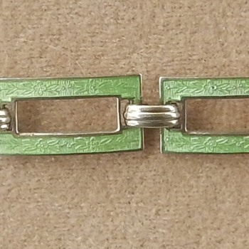 Art Deco Bracelet Help Identifying Maker Needed