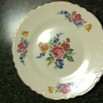 Unknown China Pattern - China and Dinnerware