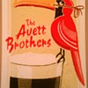 Avett Brothers poster, Dublin, 2013