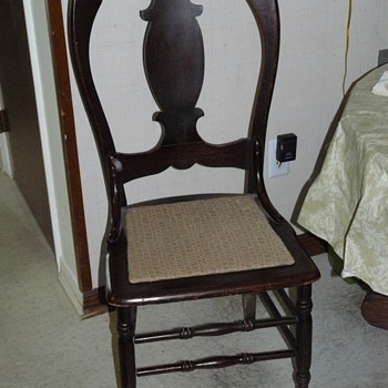 I'm trying to identify this dining chair.   I have a set of 4.    - Furniture