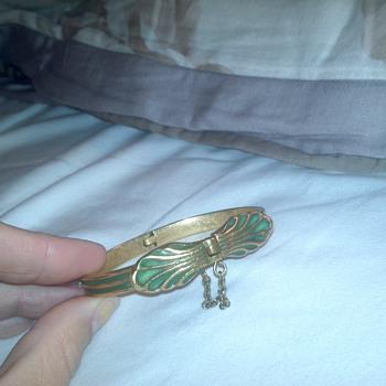 bronze kalevala koru bracelet