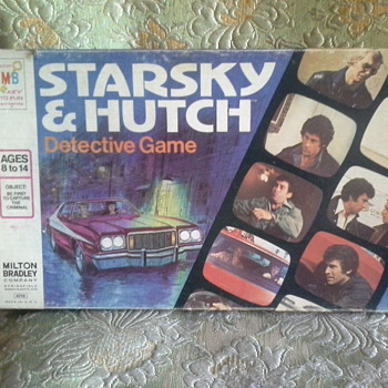Starksy and Hutch Board Game 1977 - Games