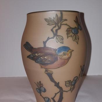 Danish Art Pottery Vase L. Hjorth - Pottery