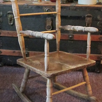 Childs Rocking Chair - Furniture