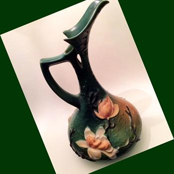 Gargantuan Deco Ewer by Roseville - Pottery
