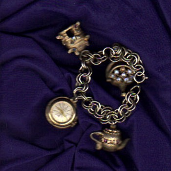 Hawthorne antimagnetic watch on charm bracelet