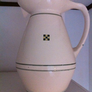 Big Art Nouveau ewer Gouda
