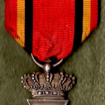 WWI Belgian Military Decoration and Victory Medal