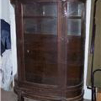 Early 1900's China Cabinet - Horner Style - Furniture