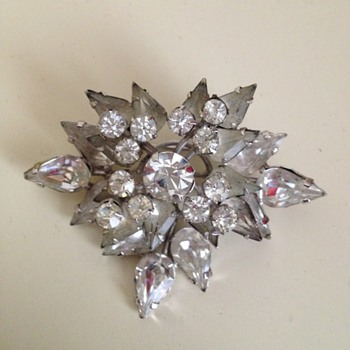 1950's Spray Brooch