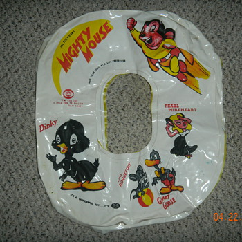 Mighty Mouse Swim Ring...Local auction steal for $1 - Animals