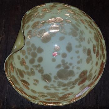 Murano serving plate