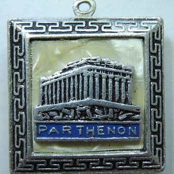 Parthenon Silver Pendent