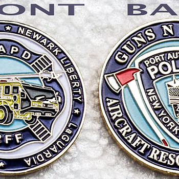 PAPD ARFF COIN - Firefighting