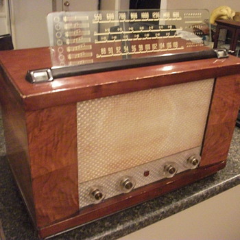 my tube radio - Radios