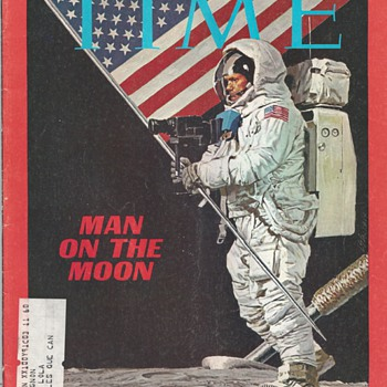 "Man on the Moon""Time 25 July 1969"""