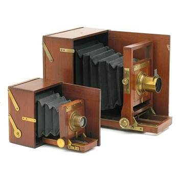 Blair Lucidograph Cameras - 1884 to 1890