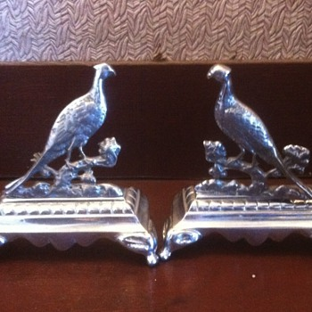 Pewter pheasants