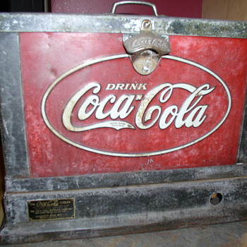 1931 Glascock counter top cooler