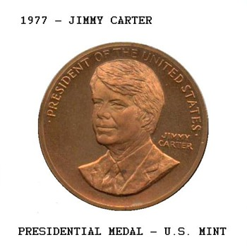 1977 - Jimmy Carter Presidential Medal