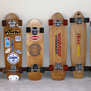 1970's Skateboard Collection - Sporting Goods