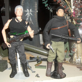 GI Joe Club Man of Evil and Man of Asia - Toys