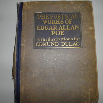 The Poetical Works of Edgar Allan Poe with Illustrations by Edmund Dulac,c 1921