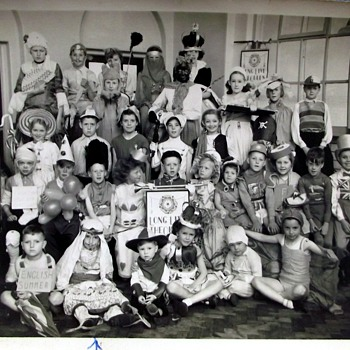 1953-the coronation party-birmingham-ward end. - Photographs
