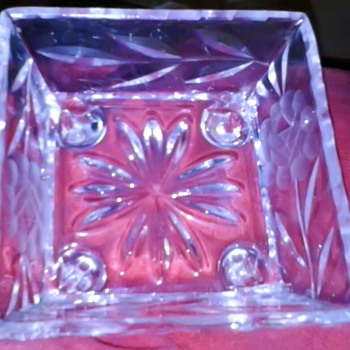 Glass Candy Dish - Glassware