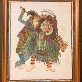 Antique Chinese/Japanese Framed Drawing? - Asian