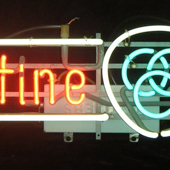 Ballantine Beer Neon Sign