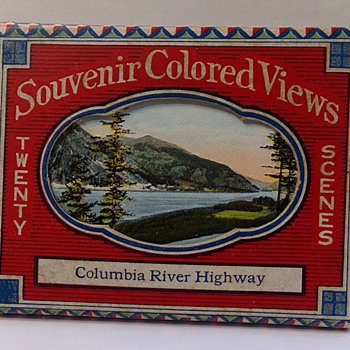 1920s Souvenir Views of Columbia River Highway