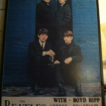 Vintage Beatles poster - Music