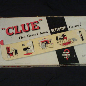 Clue the great new detective game! - Games